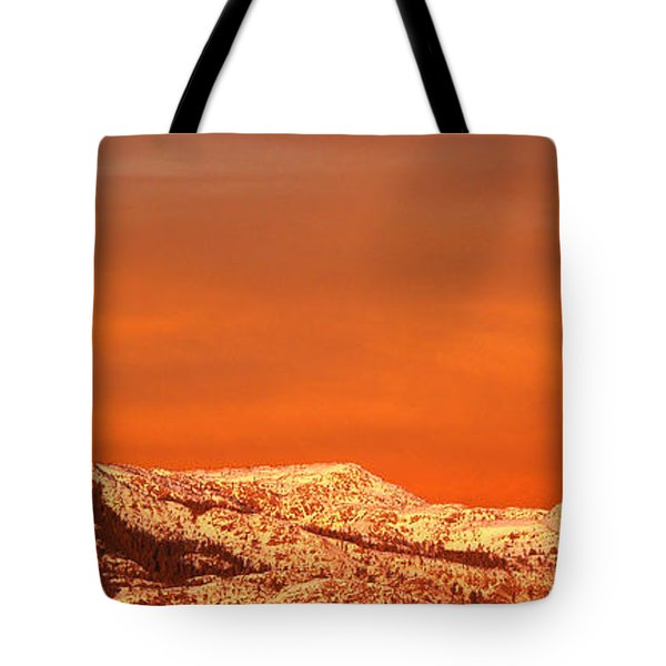 Emigrant Gap Tote Bag by Bill Gallagher