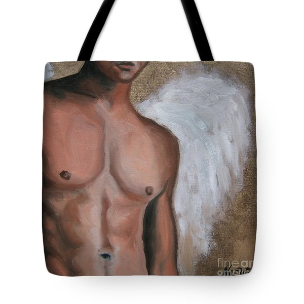 Emmanuel  Tote Bag by Jindra Noewi