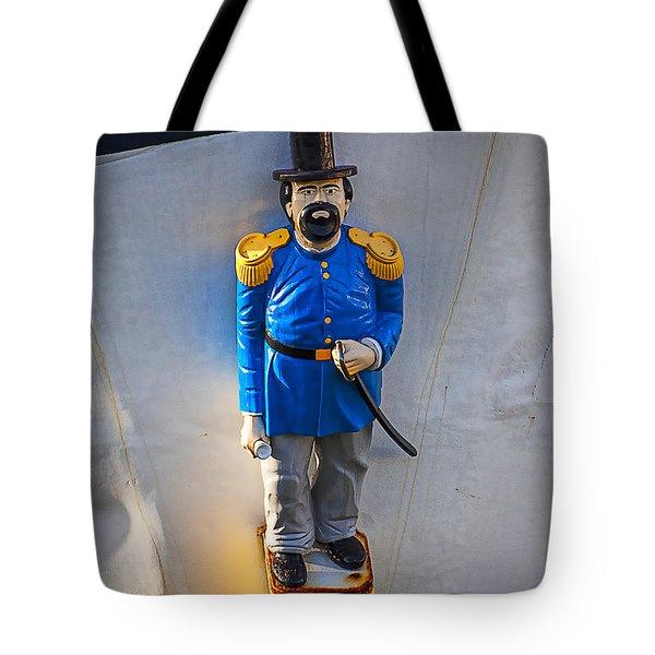 Emperor Norton Figurehead Tote Bag by Garry Gay