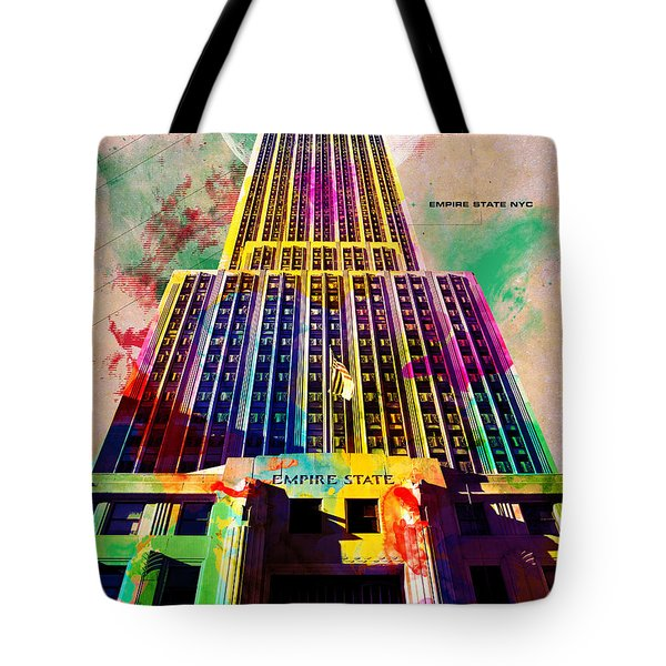 Empire State Tote Bag by Gary Grayson