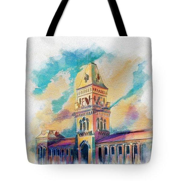 Empress Market Karachi Tote Bag by Catf