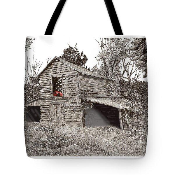 Empty old barn Tote Bag by Jack Pumphrey
