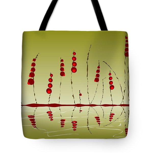 Enchanted Berries Tote Bag by Anastasiya Malakhova