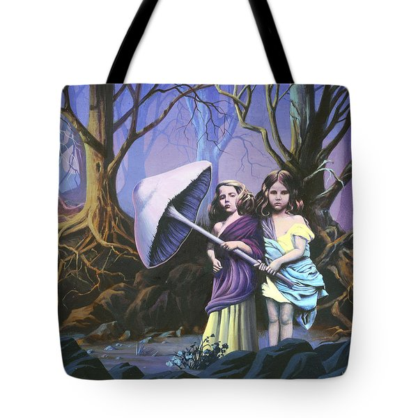 Enchanted Forest Tote Bag by Vivien Rhyan