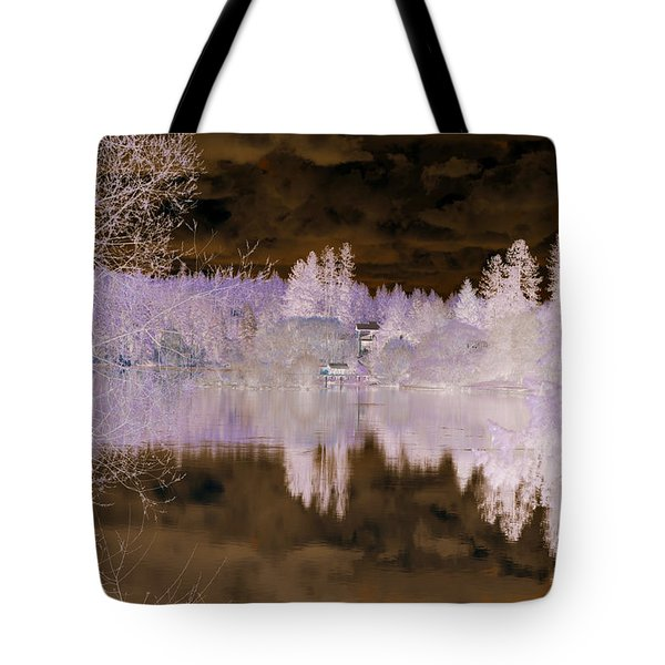 Enchanted Wood Tote Bag by Ana Lusi