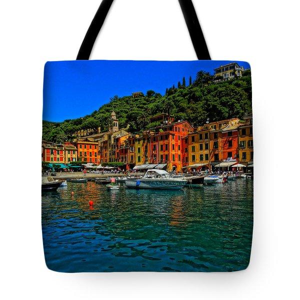 Enchanting Portofino In Ligure Italy I Tote Bag by M Bleichner