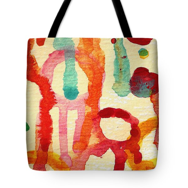 Encounters 5 Tote Bag by Amy Vangsgard