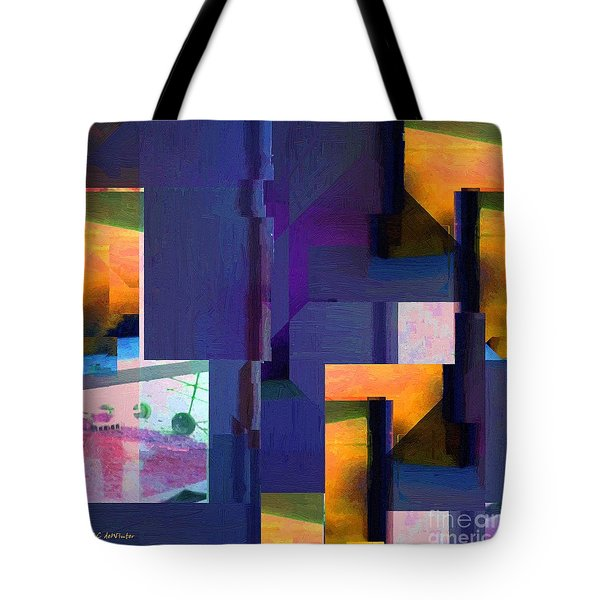 Encroachment Tote Bag by RC DeWinter