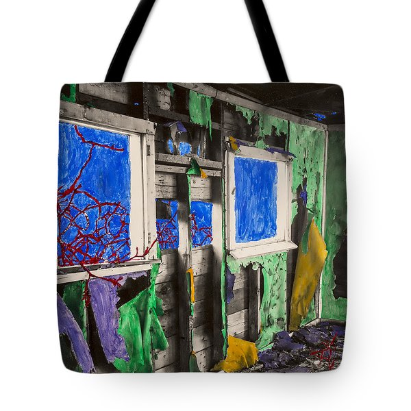 Encroachment Tote Bag by Scott Campbell