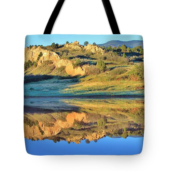 End of Summer Reflections 2 Tote Bag by Diane Alexander