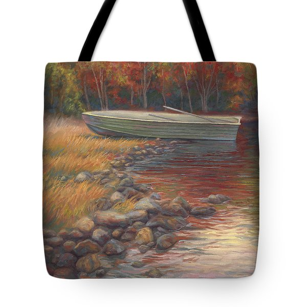 End Of The Day Tote Bag by Lucie Bilodeau