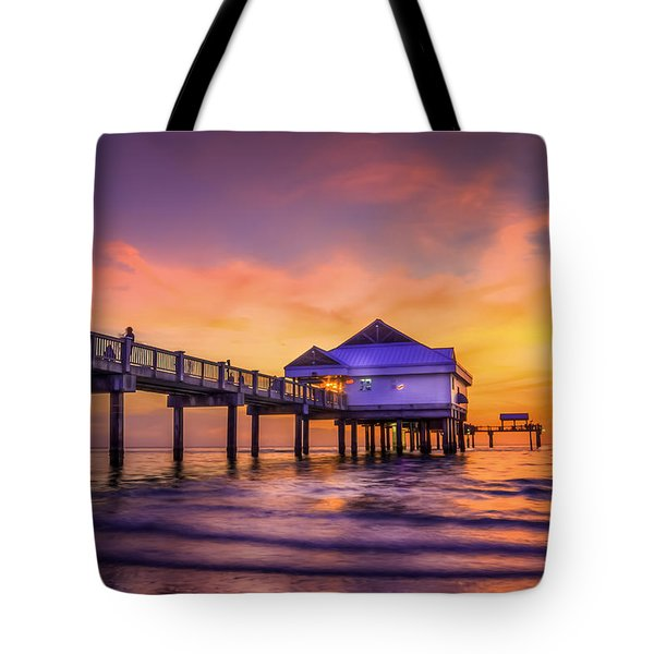 End Of The Day Tote Bag by Marvin Spates