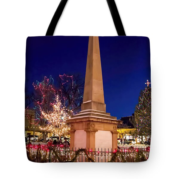 End Of The Trail Tote Bag by Jon Burch Photography