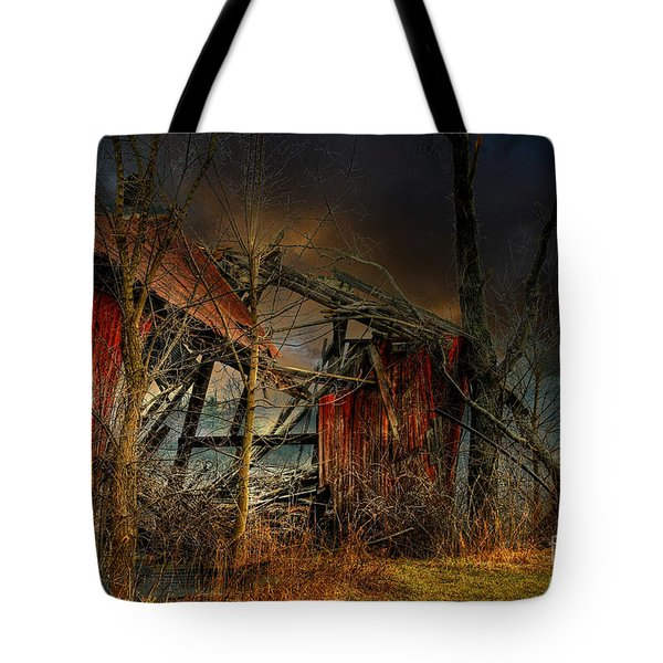 End Times Tote Bag by Lois Bryan