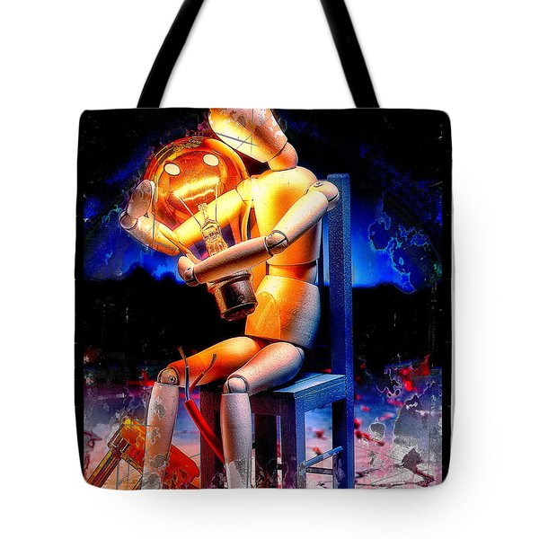 Energy Love Tote Bag by Mauro Celotti