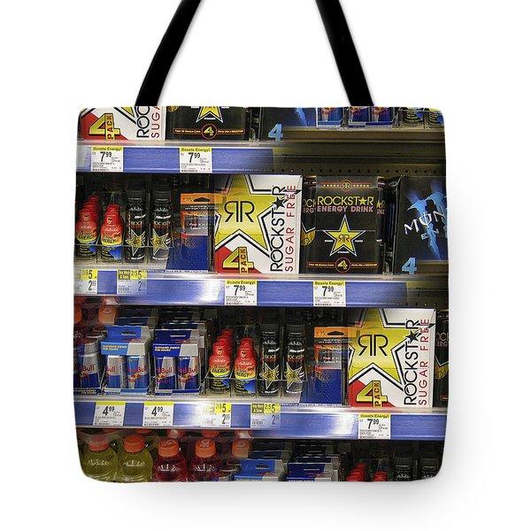 ENERGY PRISM Tote Bag by Daniel Hagerman