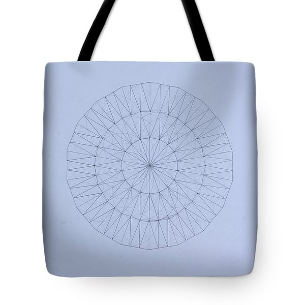 Energy Wave 20 Degree Frequency Tote Bag by Jason Padgett