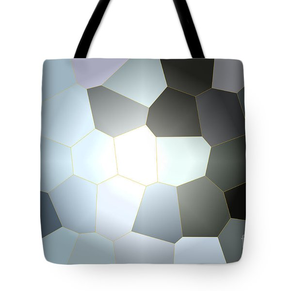 Energy Within - Abstract Art Tote Bag by Carol Groenen