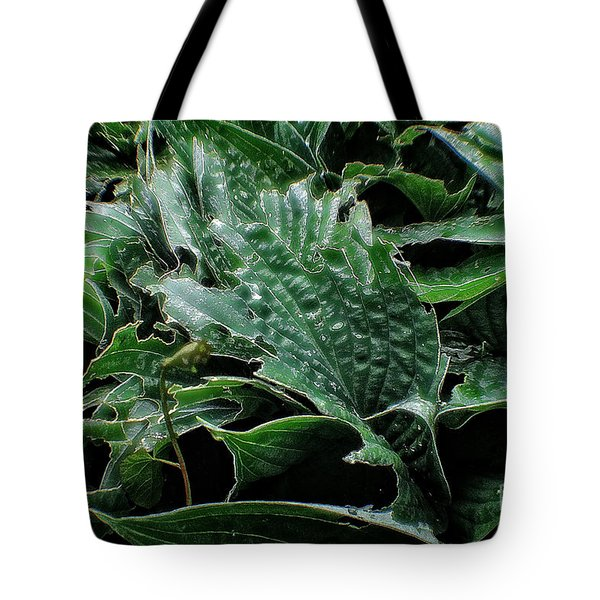 English Country Garden - Series V Tote Bag by Michael Braham
