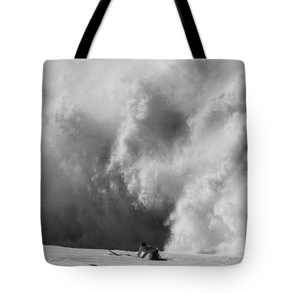 Engulfed Tote Bag by Sean Davey