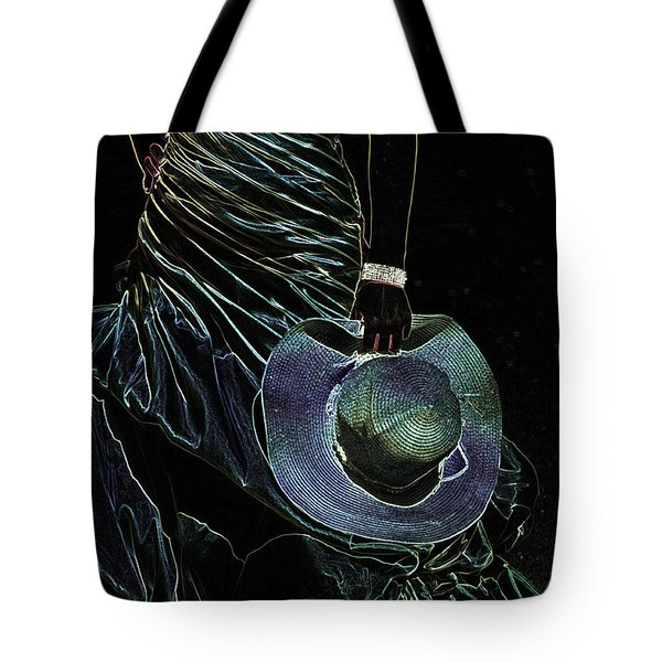 Enigma Tote Bag by Jenny Rainbow