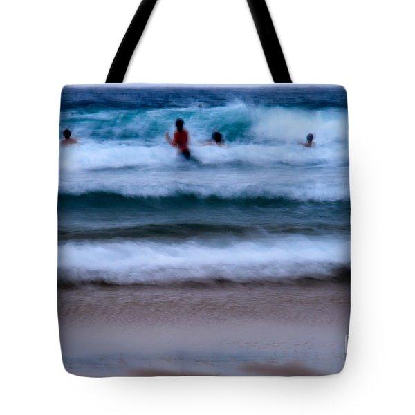 enjoy the ocean I Tote Bag by Hannes Cmarits