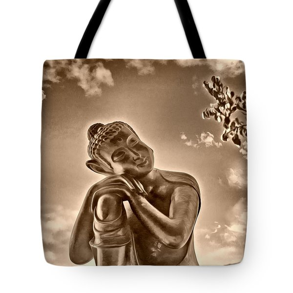 Enlightenment 2 Tote Bag by Cheryl Young