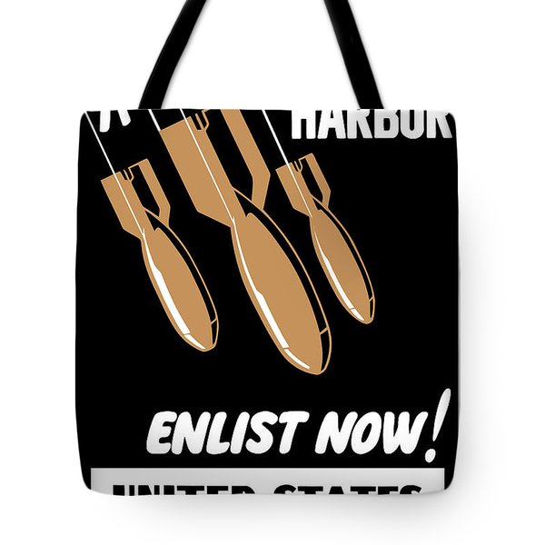 Enlist Now United States Coast Guard Tote Bag by War Is Hell Store