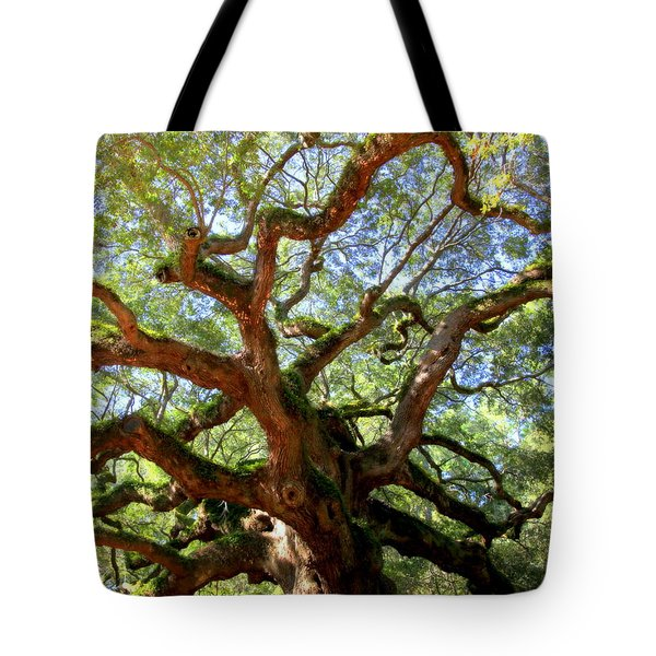 Entangled Beauty Tote Bag by Karen Wiles