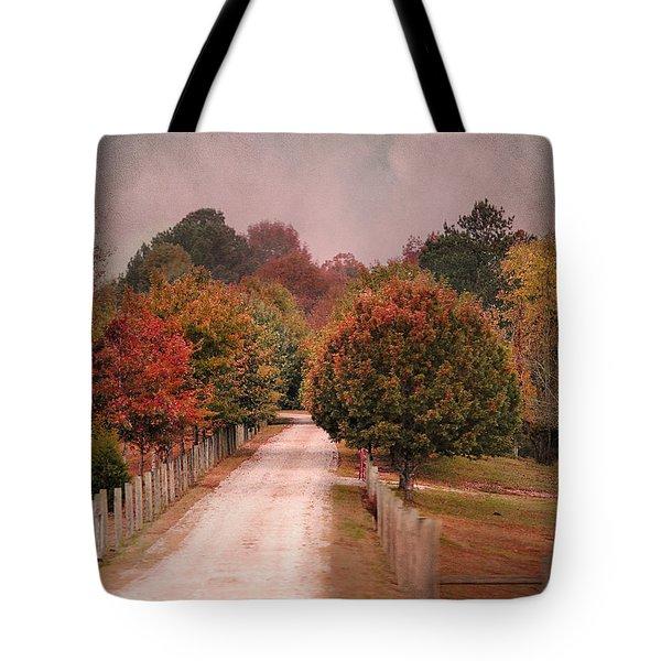 Enter Fall Tote Bag by Jai Johnson