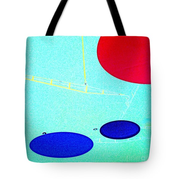 enter here Tote Bag by Jacqueline McReynolds
