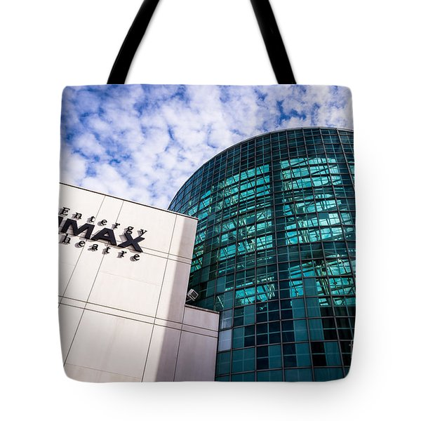 Entergy Imax Theatre In New Orleans Tote Bag by Paul Velgos
