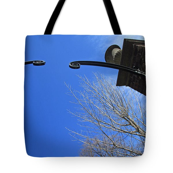 Going To Dumbarton House Tote Bag by Cora Wandel