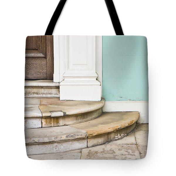 Entrance Steps Tote Bag by Tom Gowanlock