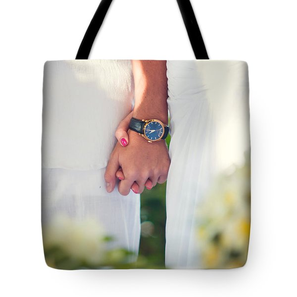 Entrusting Myself To You  Tote Bag by Jenny Rainbow