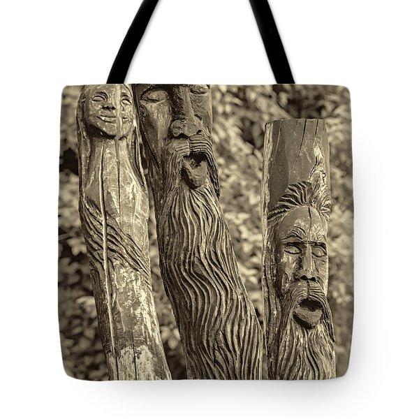 Ents sepia Tote Bag by Steve Harrington