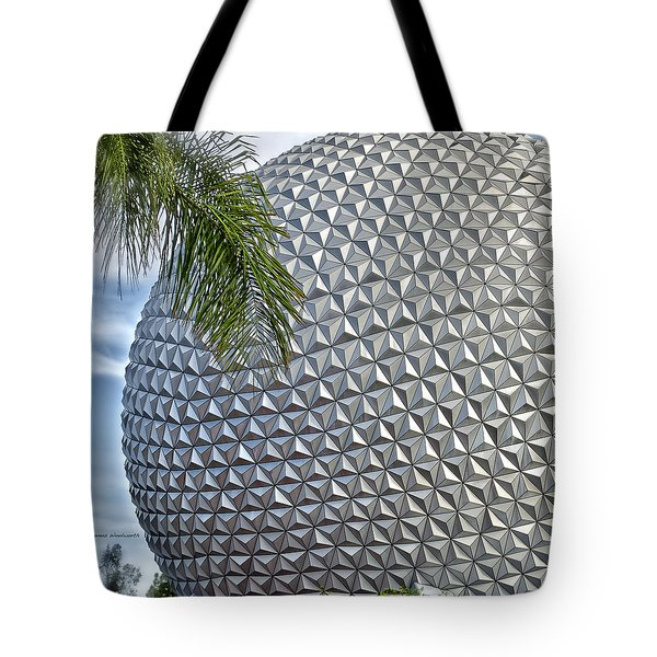 EPCOT Globe Tote Bag by Thomas Woolworth