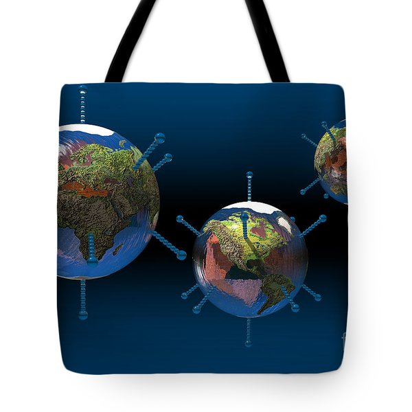 Epidemic Tote Bag by Carol and Mike Werner