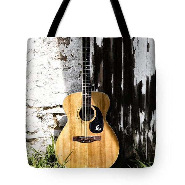 Epiphone Caballero Tote Bag by Bill Cannon