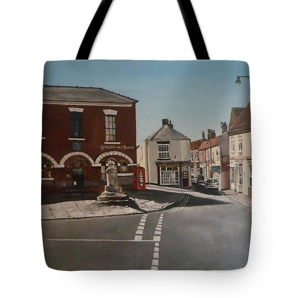 Epworth Cross Tote Bag by Cherise Foster