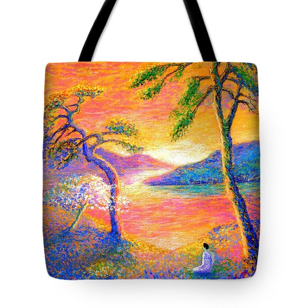 Divine Light Tote Bag by Jane Small