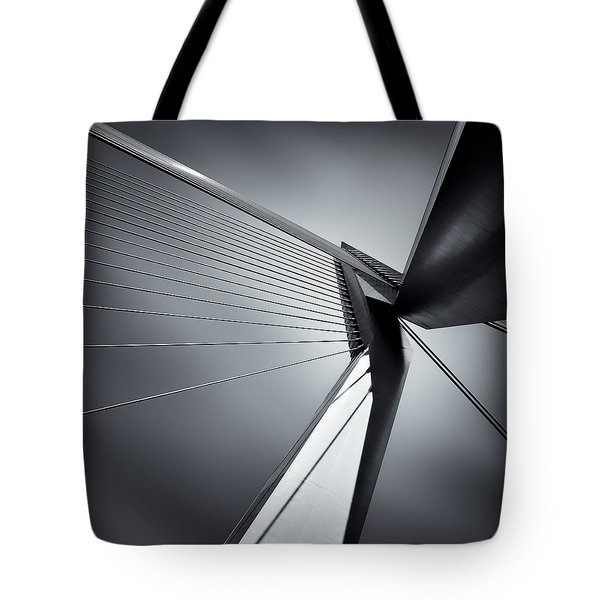 Erasmusbrug Tote Bag by Dave Bowman