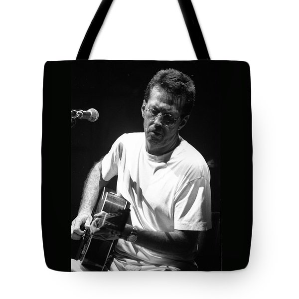 Eric Clapton 003 Tote Bag by Timothy Bischoff