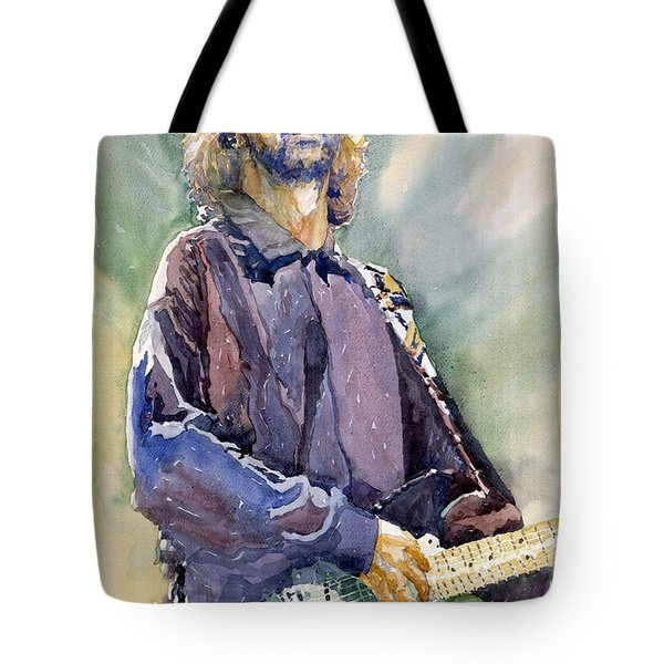 Eric Clapton 05 Tote Bag by Yuriy Shevchuk
