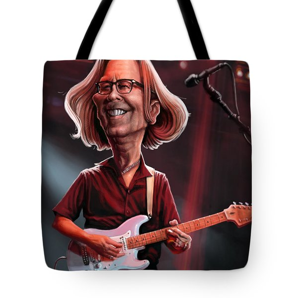 Eric Clapton Tote Bag by Andre Koekemoer