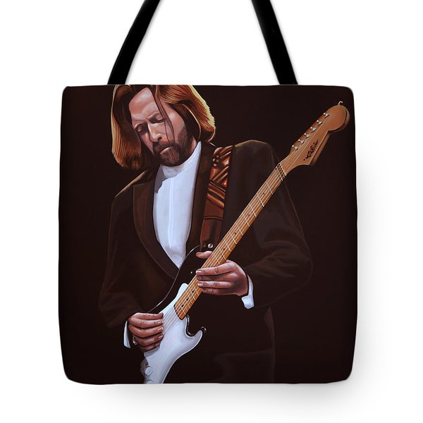 Eric Clapton Tote Bag by Paul  Meijering
