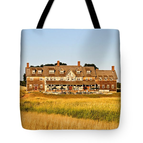 Erin Hills Clubhouse Tote Bag by Scott Pellegrin
