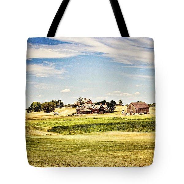 Erin Hills Tote Bag by Scott Pellegrin