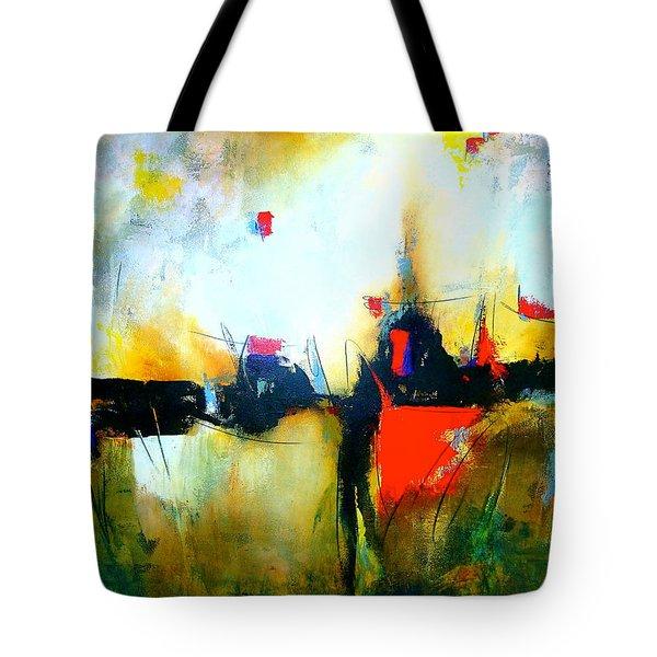 Espejismos Tote Bag by Thelma Zambrano