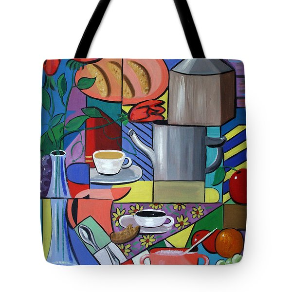 Espresso Tote Bag by Anthony Falbo